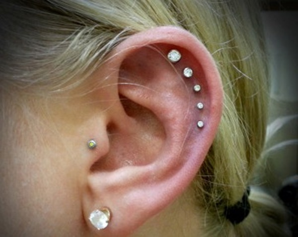 60 Amazing Cartilage Piercing And Jewelry Examples That