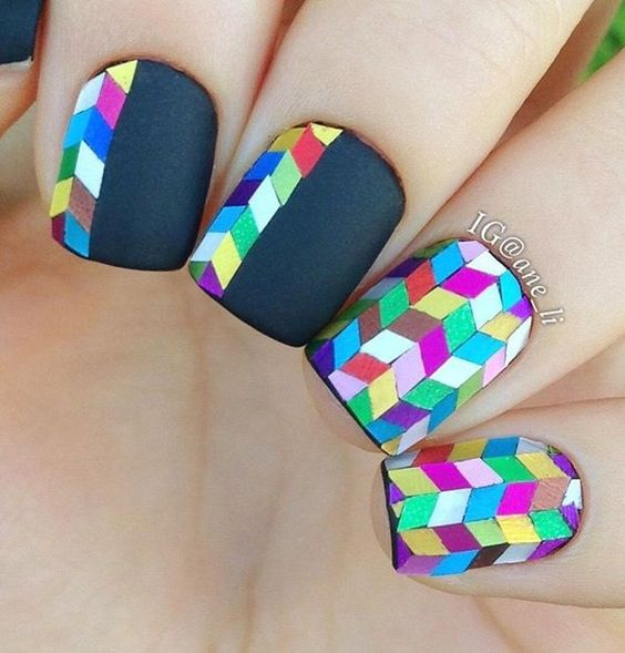 30 Amazing Rhinestone Nail Art Designs Ecstasycoffee: 50+ Cool Colorful Rainbow Nail Designs You Won't Miss
