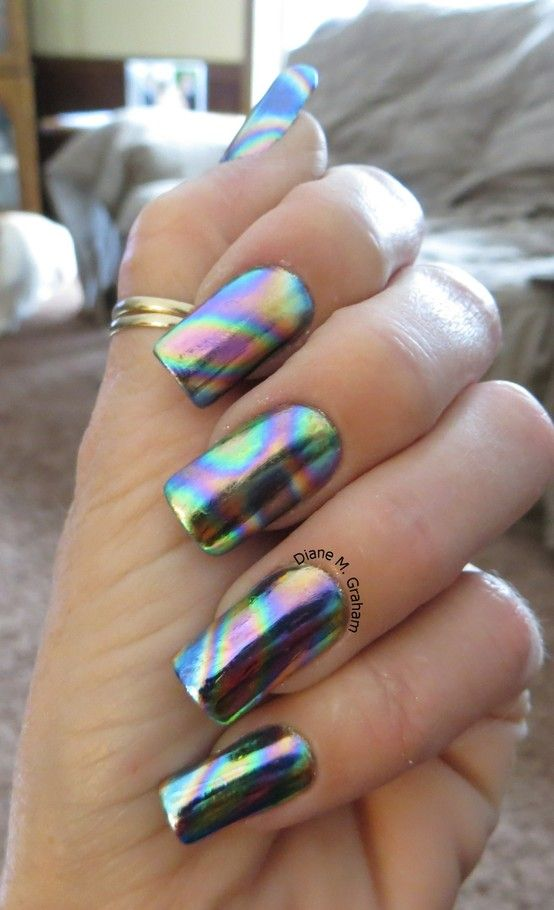 30 Cool Colorful Rainbow Nail Designs You Wont Miss