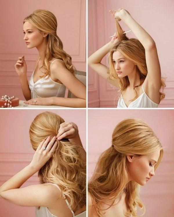 30 Fashionable HalfUp HalfDown Hairstyles To Make You Look Perfect  EcstasyCoffee