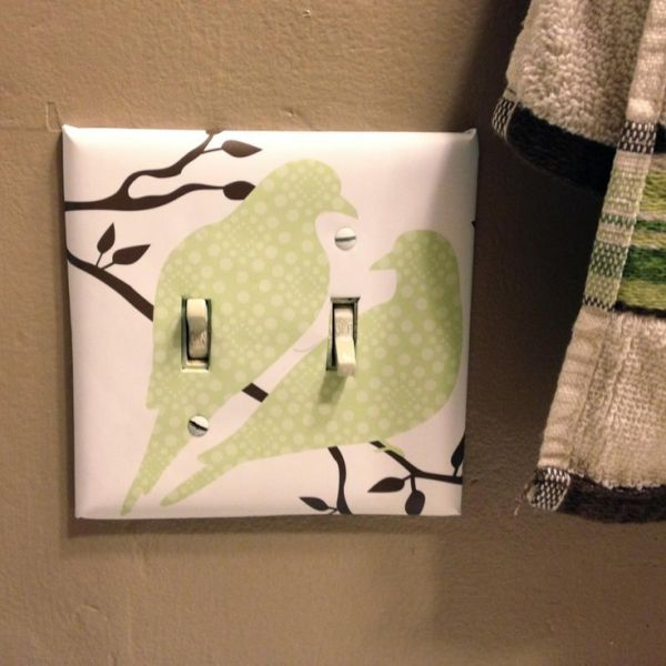 16 Cheap Ways To Decorate Light Switch Plates