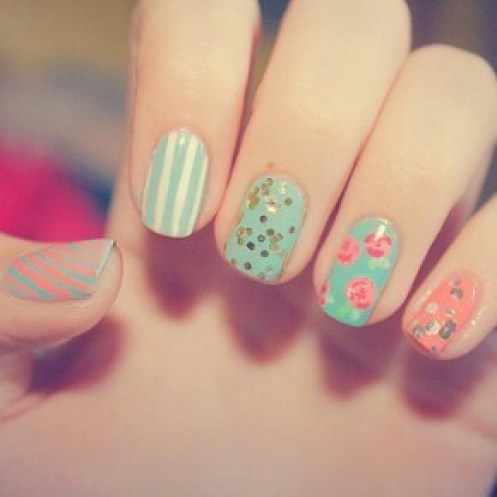 70 Beautiful Examples Of Spring Nail Art Designs You Need To Try