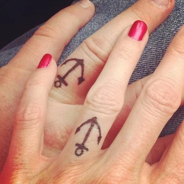Wedding Ring Tattoos Women