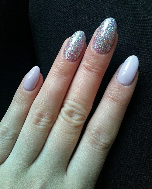 70 beautiful examples of spring nail art designs you need to try gel nails glitter nail design nails purple sparkly prinsesfo Gallery