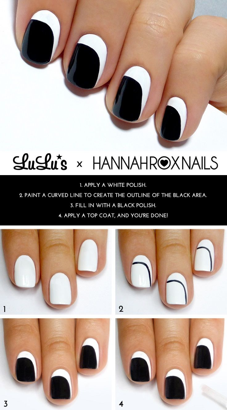 50 Cute & Easy Nail Art Tutorials Just For You - EcstasyCoffee