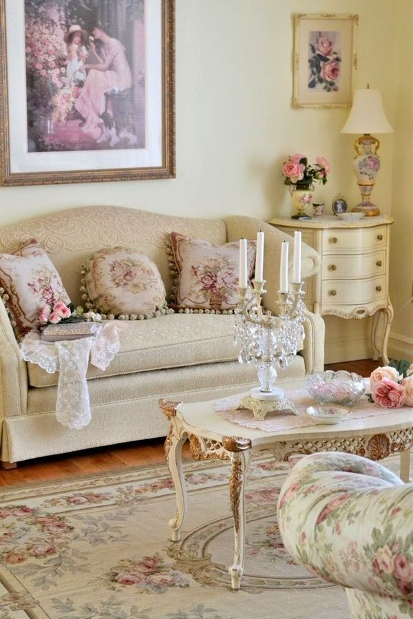 Decor Living Room Ideas: 50 Cool Shabby Chic Living Room Decor Ideas » EcstasyCoffee