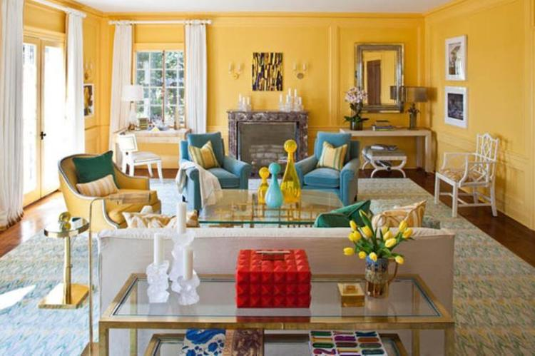 35 Gorgeous Yellow Home Decorating Ideas » EcstasyCoffee
