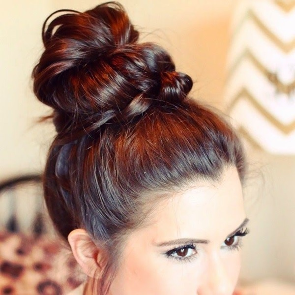40 Lovely Bun Hairstyles That You Ll Love 187 Ecstasycoffee