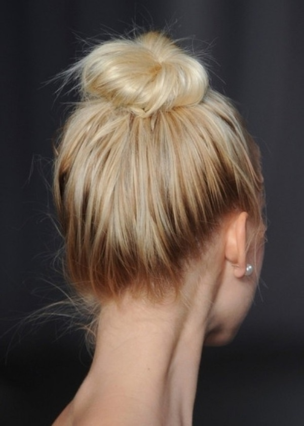 40 Lovely Bun Hairstyles That You'll Love » EcstasyCoffee