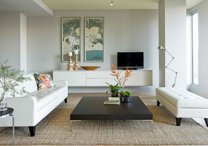 chic minimalist living room - Minimalist Living Room