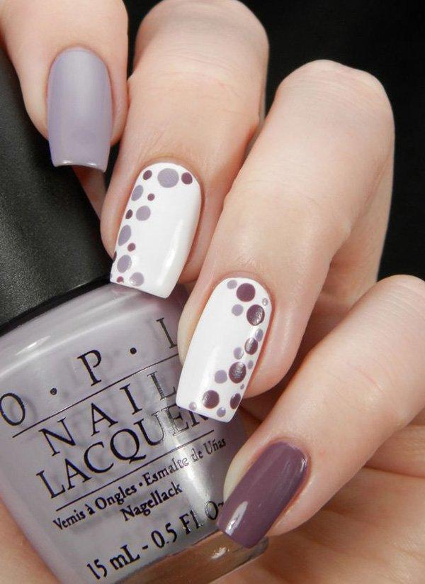 ... classic-nail-art-designs-17 ... - 40 Amazing Classic Nail Art Designs - EcstasyCoffee