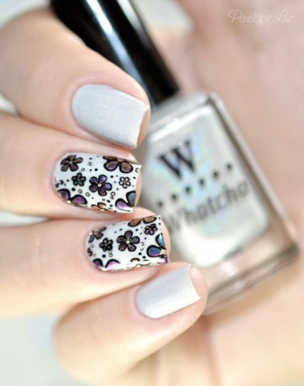 40 Amazing Classic Nail Art Designs 187 Ecstasycoffee