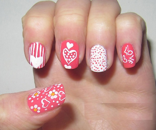 Nail Design Cakes: 50 Most Beautiful Pink And White Nails Designs Ideas You