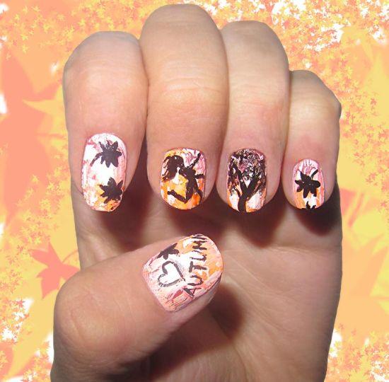 45 Fall Nail Art Designs Ideas You Ll Love 187 Ecstasycoffee