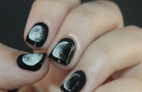 50 Half Moon Nail Art Designs To Try - EcstasyCoffee