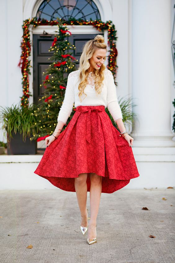Christmas Wishes For Family: 50 Cute Christmas Outfits Ideas To Copy » EcstasyCoffee