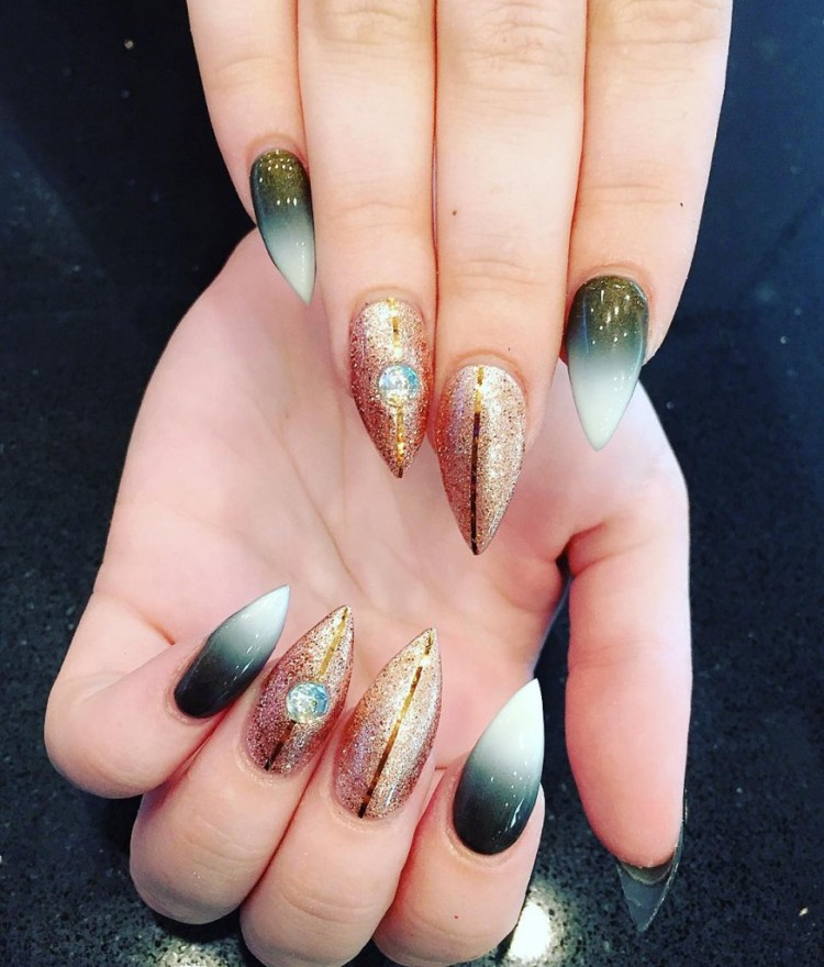 30 Awesome Nail Extensions Design You May Like 187 Ecstasycoffee