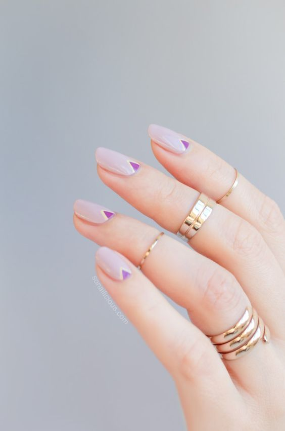 50 gorgeous minimalist nail art designs  u00bb ecstasycoffee