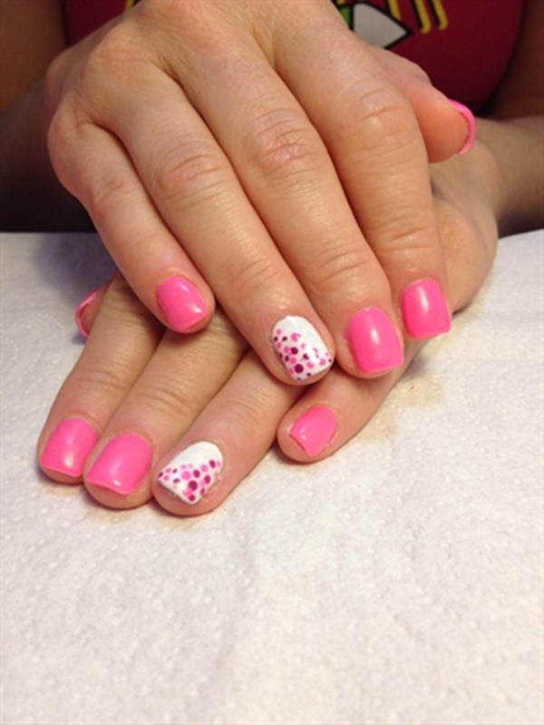 50 Most Beautiful Pink And White Nails Designs Ideas You Wish To Try 187 Ecstasycoffee