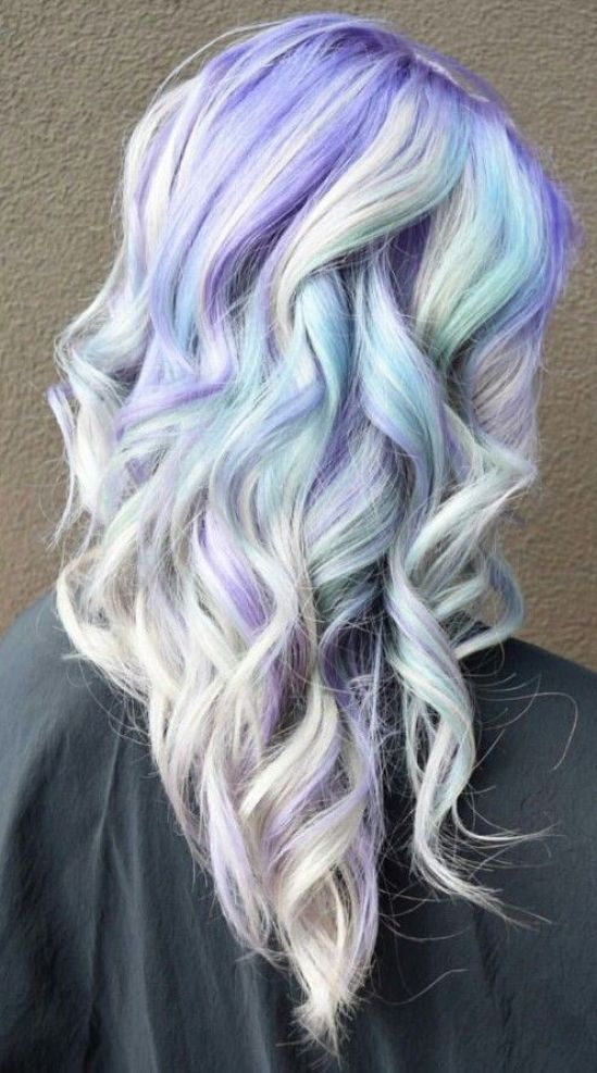expressive opal hair color