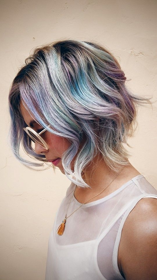 50 Sexy  Expressive Opal Hair Color For Every Occasion