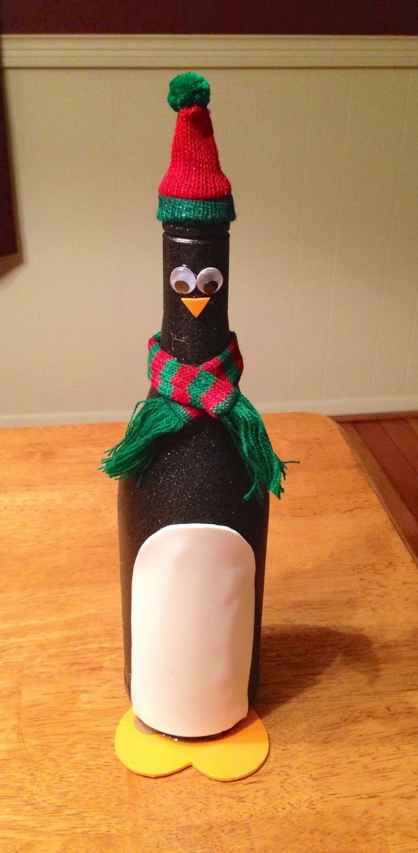 penguin-wine-bottle