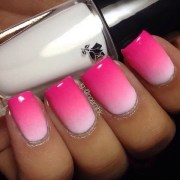beautiful pink and white