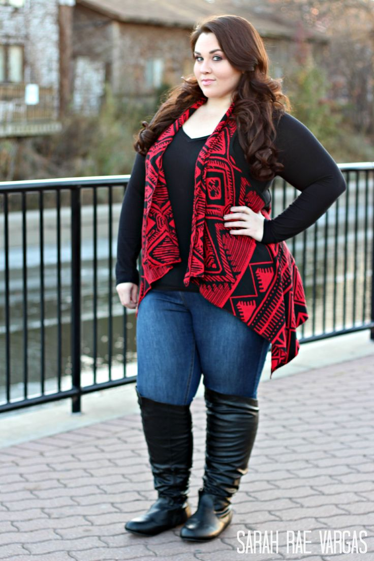25 Stunning Fall/Winter Outfits Ideas For Plus Size Ladies ...