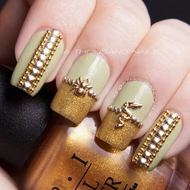 30 Amazing Rhinestone Nail Art Designs Ecstasycoffee