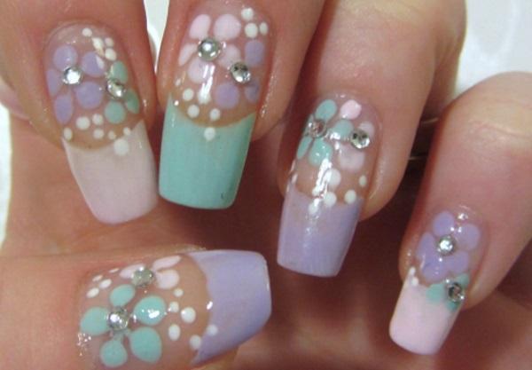 30 amazing rhinestone nail art designs  u00bb ecstasycoffee