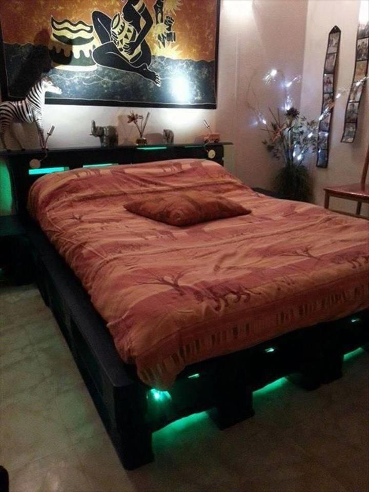 40 Creative Wood Pallet Bed Design Ideas EcstasyCoffee