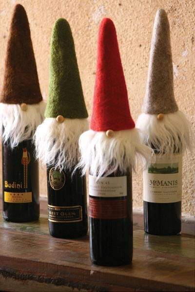 santa-gnome-wine-toppers