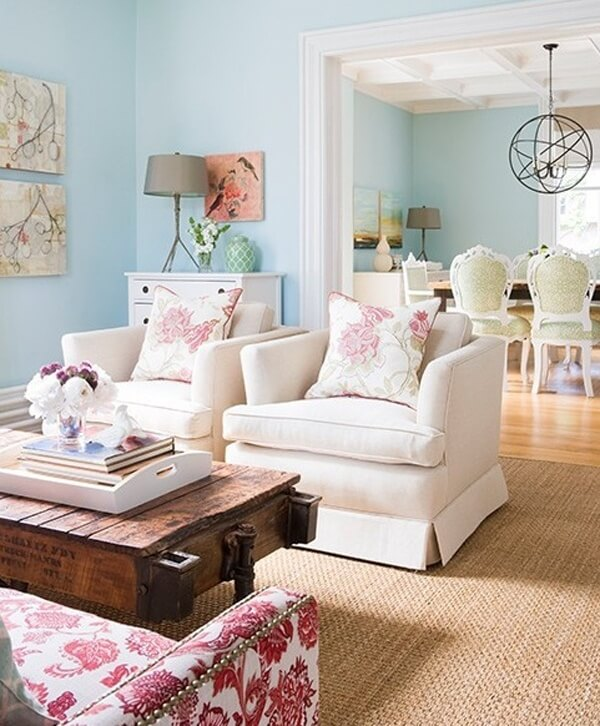 Cheap And Chic Living Room Decor Ideas: 50 Cool Shabby Chic Living Room Decor Ideas » EcstasyCoffee