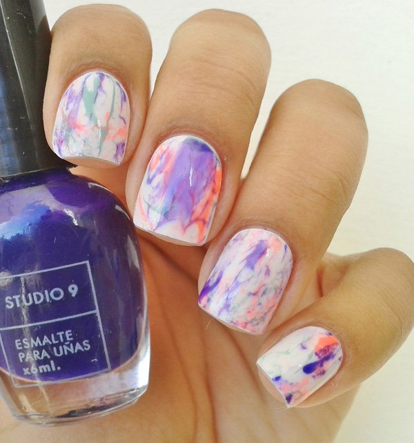 34 Unbelievably Watercolor Nail Art Ideas Ecstasycoffee