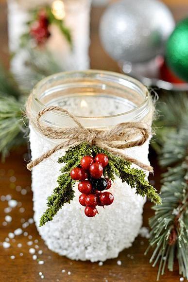 snowy-mason-jar