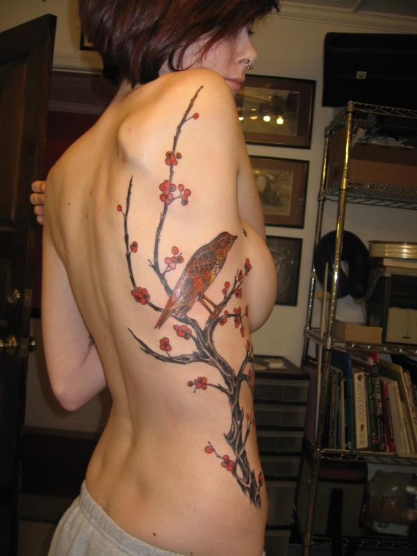 Side Breast Tattoo: 54 Unique Rib Tattoos Designs And Ideas » EcstasyCoffee