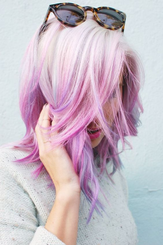 Sexy Expressive Opal Hair Color For Every Occasion - Creative hairstyle color