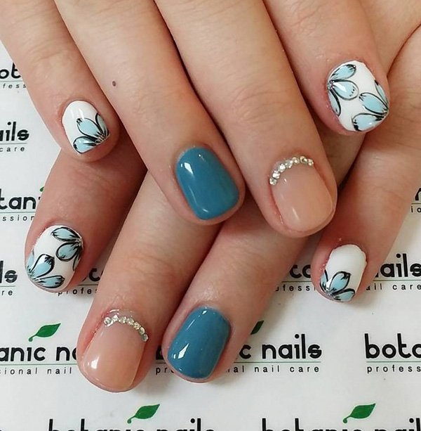 40 best fall winter nail art designs to try this year. Black Bedroom Furniture Sets. Home Design Ideas