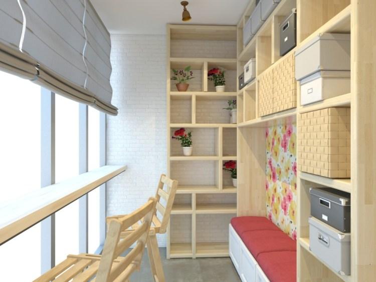 Apartment Balcony Decorating Window