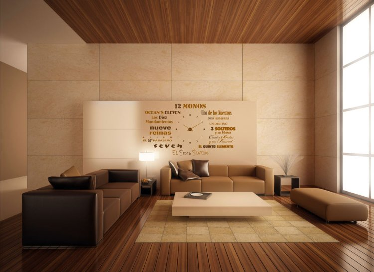 Minimalist Living Room Lighting Idea
