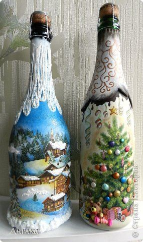 wine-bottle-christmas-craft-idea