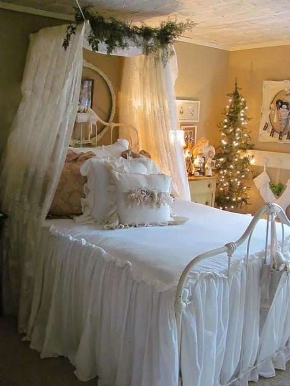 Stunning Christmas Bedroom Decorating Ideas And Inspiration