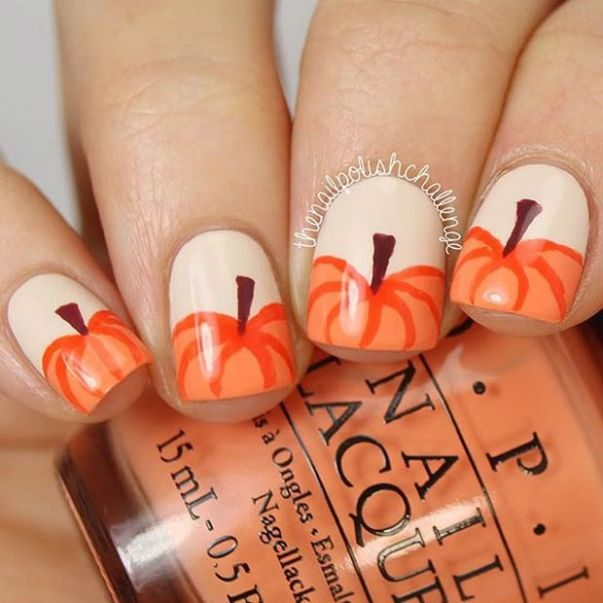 30 Awesome Thanksgiving Nail Art Ideas Ecstasycoffee