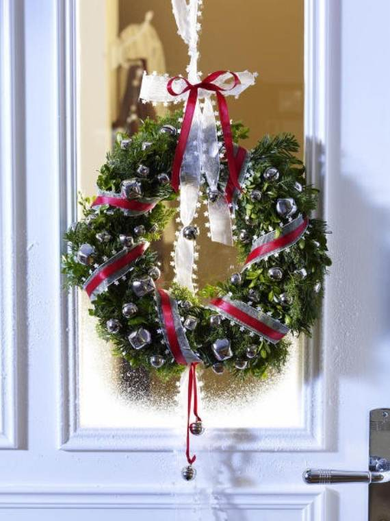 70 Inspiring Christmas Wreath Decorating Ideas You Ll Love