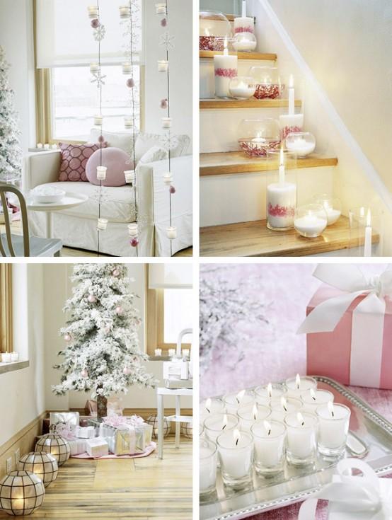 26 Creative Christmas Candles Decoration Ideas