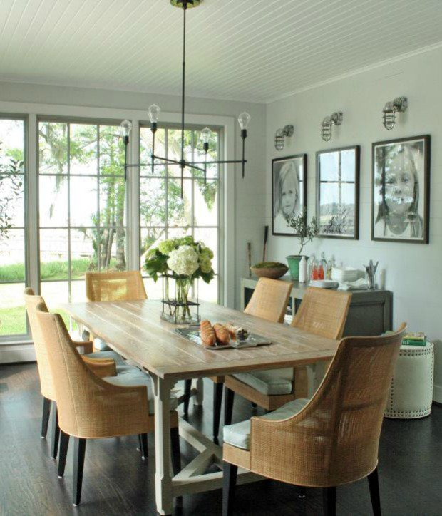 Classy Neutral Dining Room Ideas