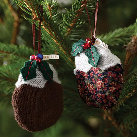 Knitted Decorations: 54 Creative Knitted Christmas Decorations Ideas