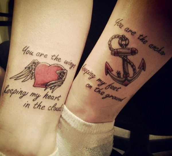 55 Awesome Mother Daughter Tattoo Design Ideas » EcstasyCoffee