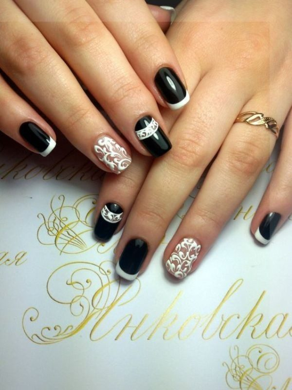45 gorgeous nail art design for new years eve ecstasycoffee nail art design 2017 1 prinsesfo Images