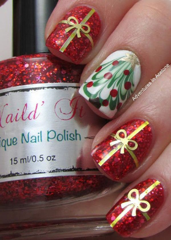 45 Gorgeous Nail Art Design For New Year\'s Eve » EcstasyCoffee